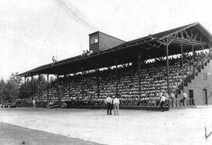 Lodi High's grandstand went up in flames in 1962