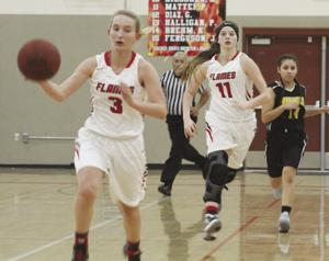 Girls basketball: Flames tame Bobcats in tourney opener