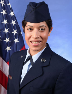 Air Force Reserve Airman Claudia Almer