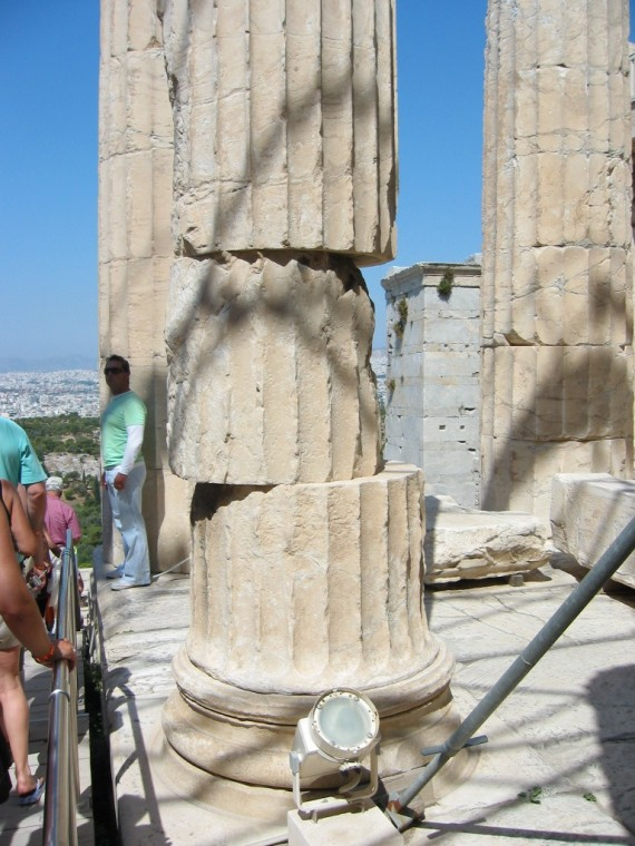 At the Acropolis, Athens, Greece