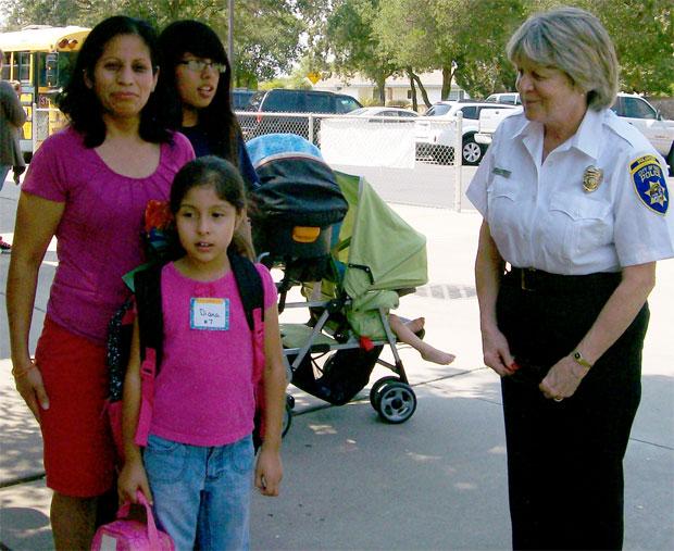 'Grandma Cops' greet Galt students