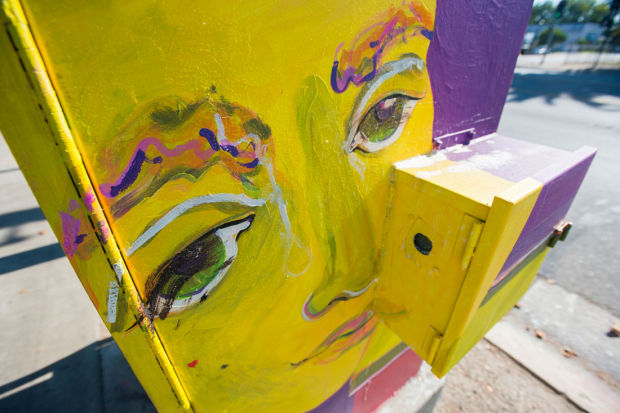 Paint the town — or at least Lodi's utility boxes