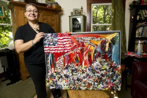 Area artists remember 9/11 in paint, mixed media
