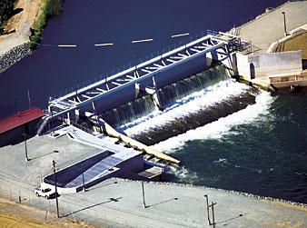 Woodbridge Dam engineers honored for most advanced fish ladders in U.S.