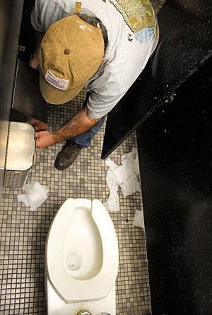 Lodi High students grossed out by school's restrooms
