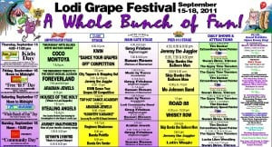 Grape Festival Program