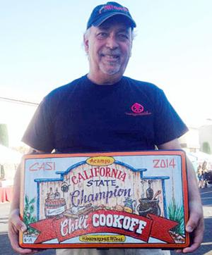 Woodbridge California State Chili Cookoff winner Alex Tanalski shares cook-off experience