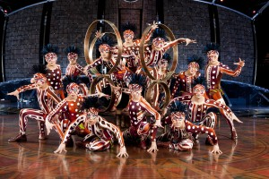 Chinese acrobatics taking over Stockton Arena