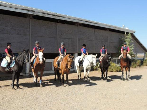 Liberty Oaks Pony Club receives certificates for horse riding skills
