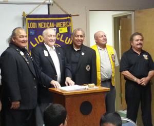 Lodi Mexican-American Lions Club installs officers