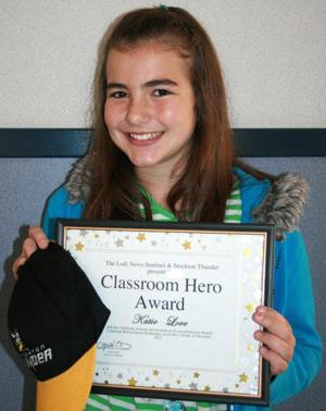 Larson Elementary School names Classroom Heroes