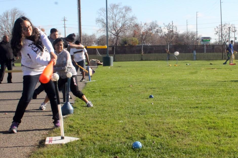 Special-needs students have a ball at All-American Sports Day in Lodi
