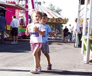 This weekend's Galt Festival includes rides, fireworks