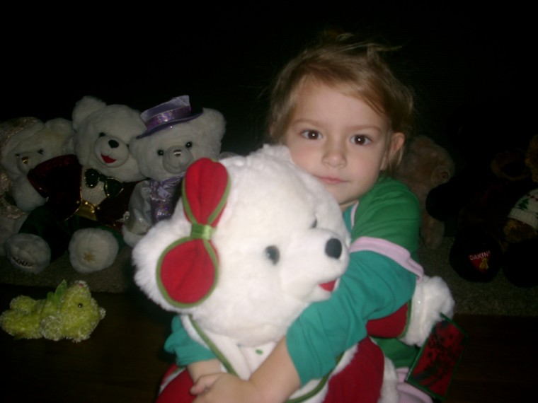 Sierra with Teddy