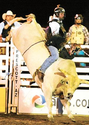Lodi bull rider Travis Jensen bucks back from career-threatening injury