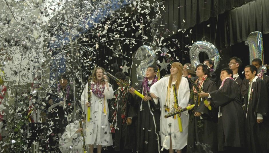 Lodi Academy graduation