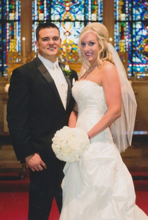 Andrew Costamagna, Kari Thomas married at University of the Pacifics Morris Chapel