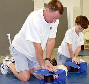 Local residents learn how to save lives at CPR Saturday