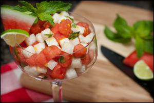 Jicama can be used in summer salads or as a healthy snack alternative