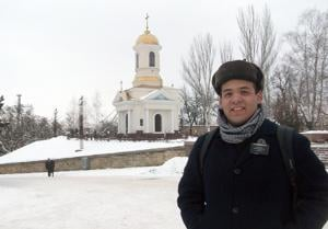 Tokay High School graduate Brandon Ku serves Ukrainian mission