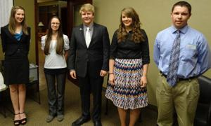 Rotary Clubs host Area One Rotary Club Speech Contest