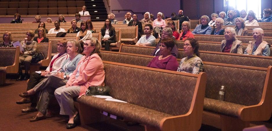Stop Human Trafficking workshop at Temple Baptist