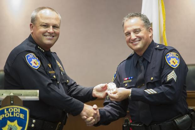 Lodi Police Department honors officers with promotions