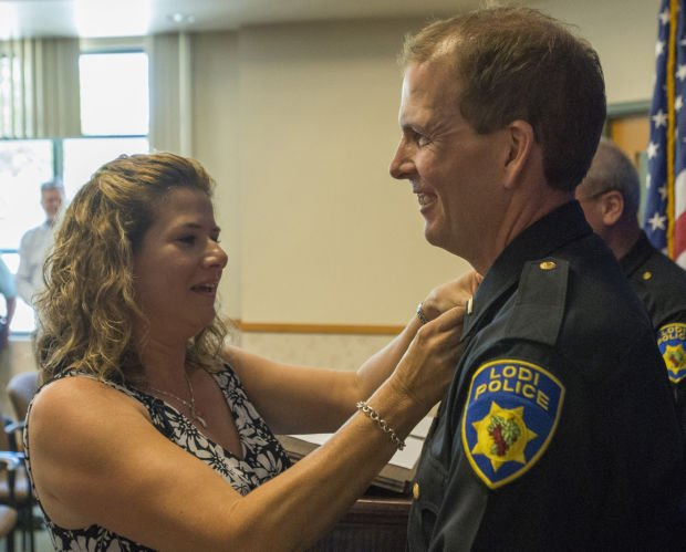 Lodi Police Department promotions