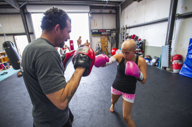 Galt's Kari Salinas pulls no punches in her fight against leukemia