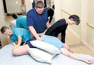 Local therapy group helps clients unwind with myofascial release