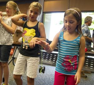 Members of Roseville club Yolex visit Lodi to share their love of yo-yos