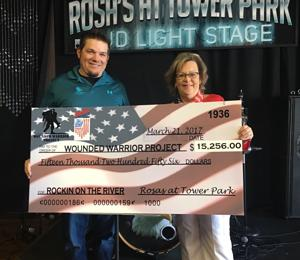 Rockin' on the River raises more than $15,000 for veterans