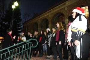 Hospice tree lighting ceremony remembers loved ones