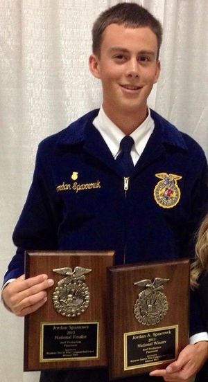 Lodi High School graduate Jordan Sparrowk named national FFA champion