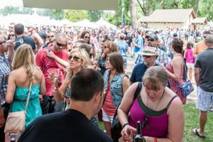 Wine lovers enjoy ZinFest at Lodi Lake Park