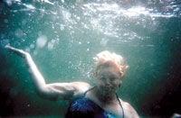 Lodi woman returns to scene of her historic swim