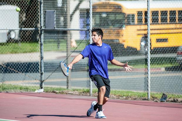 Boys tennis: Tigers vs. Vikings