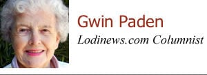 Gwin Paden: Eating with birds, helping bees and a call for members