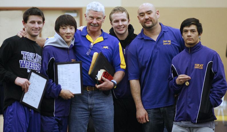 Three Tokay Tigers capture division crowns in wrestling and a fourth will join them at Masters Championship