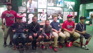 Lodi Reds baseball team plays in Cooperstown, visits Hall of Fame