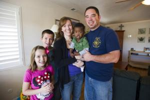 Foster adoption programs expand families