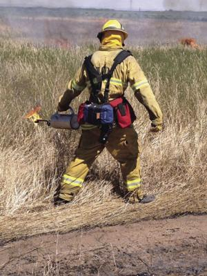 Weather ignites trend in grass fires