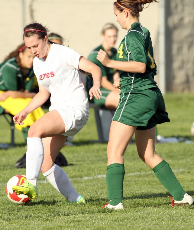 Despite loss in league opener, Flames still shooting for girls soccer title