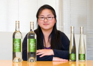 Student design wins wine label contest