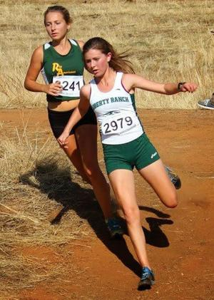 Cross country: Courtney Robinson still running