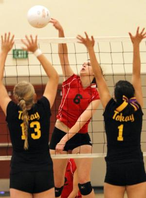 Lodi Flames sweep rival Tokay Tigers in volleyball foundation game