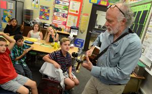 Vinewood Elementary School fourth-graders learn basics of songwriting with Kid Pan Alley