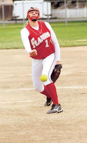 Lodi Flames softball team more than just a dominant pitcher