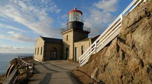 Point Sur Lighthouse offers breathtaking view of the sea