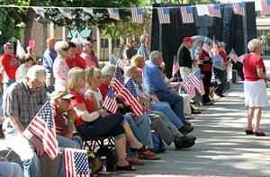 Flag Day celebration focuses on country's history, cutting taxes